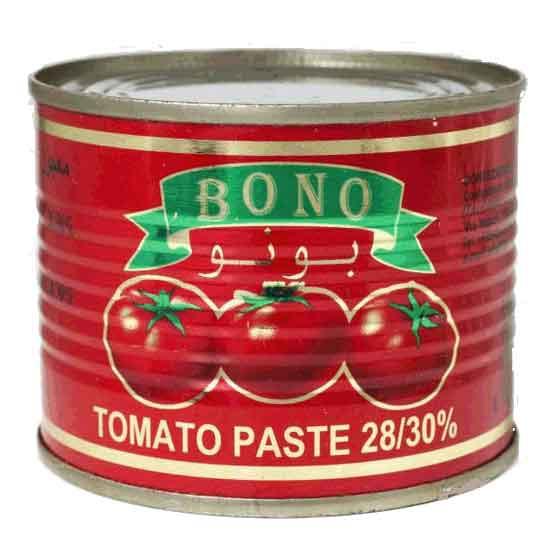 Tomato Paste Bono 28-30% Double concentrate